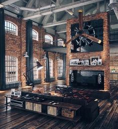 50 Ultimate Bachelor Pad Designs for Men - Luxury Interiors .- 50 Ultimate Bachelor Pad Designs für Männer – Luxus-Interieur-Ideen 50 Ultimate Bachelor Pad Designs for Men – Luxury Interior Ideas - Luxury Interior, Home Interior, Interior Architecture, Luxury Decor, Luxury Loft, Interior Ideas, Brick Interior, Modern Interior, Luxury Office