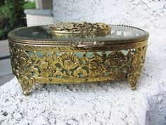 Beautiful 1950s Matson Jewelry Casket box