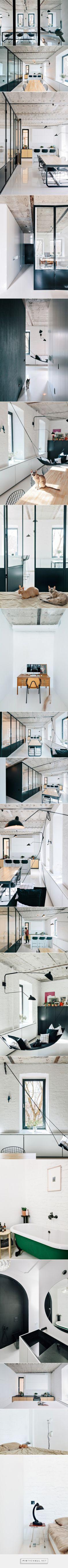 Apartment on Leningradsky Prospekt par Crosby Studios - Journal du Design... - a grouped images picture - Pin Them All