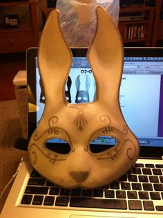"""How to make a Bunny Splicer Mask from """"Bioshock."""""""