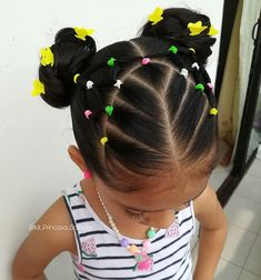 Easy Little Girl Hairstyles, Baby Girl Hairstyles, Natural Hairstyles For Kids, Kids Braided Hairstyles, Diy Hairstyles, Q Hair, Girl Hair Dos, Natural Hair Braids, Natural Hair Styles