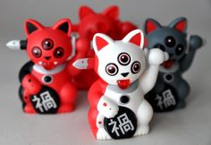 Mini Misfortune Cats (series 1) by Ferg x Playge