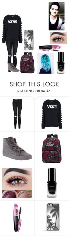 """""""Meeting Brendon Urie"""" by yagirlj ❤ liked on Polyvore featuring Boohoo, Vans, Inglot, L'Oréal Paris and takeabowbrendon"""
