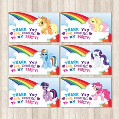 My Little Pony Invitaciones Para Imprimir Gratis Baby Stuff