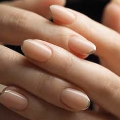 Nail - The French manicure is so But when you add a bit of glitter to the tips, i. - - The French manicure is so But when you add a bit of glitter to the tips, it becomes chic all over again. Dream Nails, Love Nails, How To Do Nails, Pretty Nails, Frensh Nails, Manicures, Hair And Nails, Matte Nails, Glitter Nails