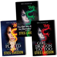 "Stieg Larsson ""The Girl with the Dragon Tatoo"" Trilogy"