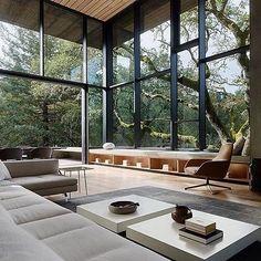 50 Best Small Living Room Design Ideas - The Trending House Dream Home Design, Modern House Design, Home Interior Design, Interior Architecture, Modern Interior, Luxury Interior, Room Interior, Exterior Design, Interior And Exterior