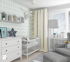 Aranżacje wnętrz - Pokój dziecka: scandiHOUSE - Średni pokój dziecka dla chłopca dla niemowlaka, styl skandynawski - BYHOUSE ARCHITECTS. Przeglądaj, dodawaj i zapisuj najlepsze zdjęcia, pomysły i inspiracje designerskie. W bazie mamy już prawie milion fotografii!