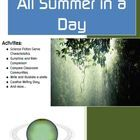 All Summer in a Day by Ray Bradbury Short Story Activities (Science Fiction)