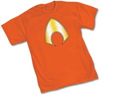 94dd31d79df Amazon.com  Aquaman Symbol T-shirt (Extra Large