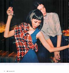 Color The Night I JJK I Ivan Zakharov I Vien Febrina I POSH I Nov 12  #photography #model #fashion