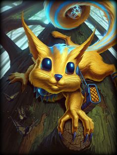 Ratatoskr Gold, Diamond, Legendary