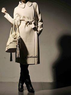 yystudio cashmere coat.