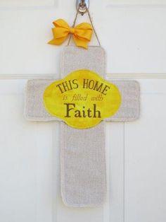 Cross Door Hanger- Custom