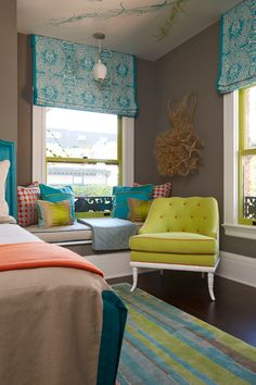 colorful coastal beach house guest, kids bedroom full,of ideas House of Turquoise: Artistic Designs for Living Home Bedroom, Bedroom Decor, House Of Turquoise, Interior Decorating, Interior Design, Bedroom Colors, Beautiful Bedrooms, Colorful Interiors, Colourful Bedroom