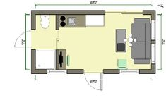 My design floor plans on pinterest pull out bed loft for Home design 8x16