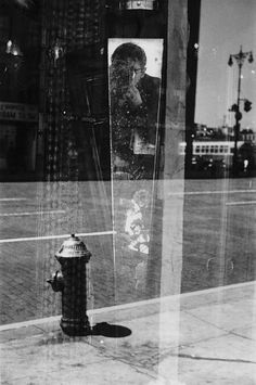 Saul Leiter, Self Portrait, 1959 on ArtStack #saul-leiter #art