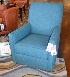 Bright, bold accent chair www.lifestylescomo.com