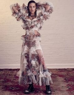 Vogue Russia April 2017 Grace Elizabeth by Paola Kudacki - Fashion Editorials