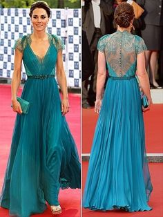 Kate Middleton in Jenny Packham..my fave
