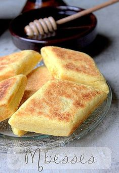 recette Mbesses-cake-algerian-butterbeer - brioches et viennoiserie - Tunisian Food, Algerian Recipes, Ramadan Recipes, Arabic Food, Sweet Recipes, Love Food, Bakery, Food Porn, Food And Drink