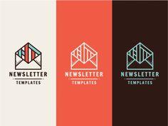 Newsletter Templates logo by Szende Brassai / Adline.