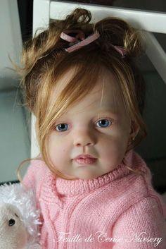 Feuille de Cerise Nursery - reborn baby toddler Louisa Jannie de Lange