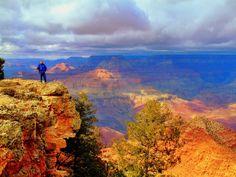 Long Range Selfie. South Rim, Grand Canyon  Http://Facebook.com/EricSNeitzel