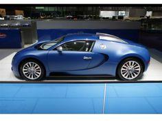 2009 Bugatti Veyron Bleu Centenaire Image