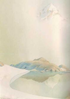 Samivel Mountain Illustration, Illustration Art, Art Et Nature, Ink In Water, Mountain Art, Cool Artwork, Amazing Artwork, Winter Fun, Illustrations And Posters