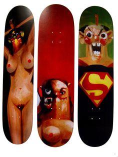 Supreme x George Condo Skateboard Decks • Highsnobiety
