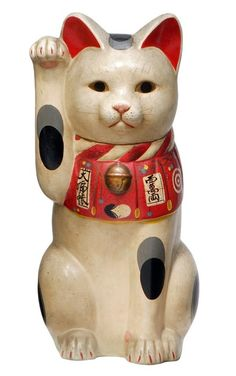 Bellevue Arts Museum newest exhibit features a collection of Maneki Neko - the Japanese famous Beckoning cats believed to bring good luck and fortune.