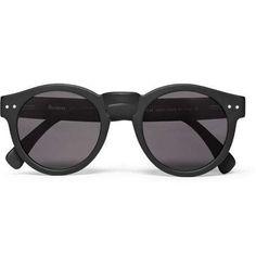 IllestevaLeonard Round-Frame Acetate Sunglasses|MR PORTER / Wantering
