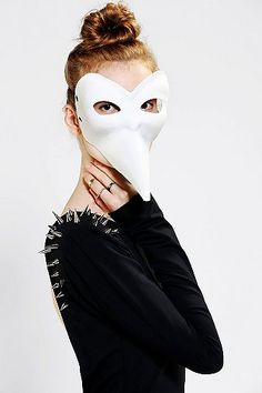 This Halloween I'm going as a Sexy Plague Doctor