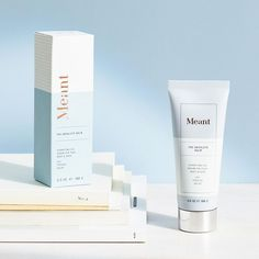Our super-rich, organic, and multitasking body balm hydrates luxuriously while simplifying your shower routine. Apply to face, body and hair for nourishment. Skincare Packaging, Cosmetic Packaging, Beauty Packaging, Design Food, Box Design, Custom Packaging, Brand Packaging, Label Design, Branding Design