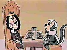 The King and Odie Show - The adventures of good King Leonardo, the ruler of the mythical kingdom of Bongo-Congo and his ever faithful companion Odie Cologne, a skunk who was the real brains behind the throne.