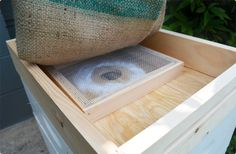 Introducing the VIVALDI BOARD! It's the ultimate wintering inner cover! Your hive gets the ventilation it needs, your bees have easy access to feed, and you can provide insulation to soak up hive moisture using a burlap sack (not available). Comes with a screened box that you place over the center hole to provide ventilation and create a small controlled space to feed. Available in both 8 or 10 frame size.