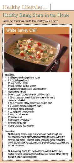 Healthy and delicious chili recipe!