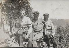 Jess Dunlap, Harold Bruner, Wilbur Bruner