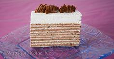 ROZEN TORTA SA MILKA ČOKOLADOM I SLATKIM VRHNJEM Torte Recepti, Kolaci I Torte, Torte Cake, Cake Bars, Cake Cookies, Cupcake Cakes, Cupcakes, Cookie Recipes, Dessert Recipes