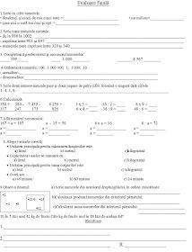 EDUCATIA CONTEAZA : CLASA a III - a Homework, Classroom, Child, Garden, Google, Diy, Mathematics, Class Room, Boys