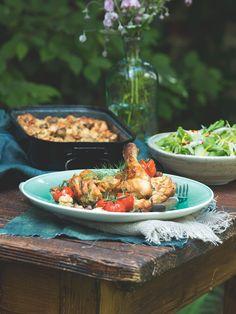 Zajímavá příloha vonící podzimem i bezmasý hlavní chod, který nadchne vegetariány.