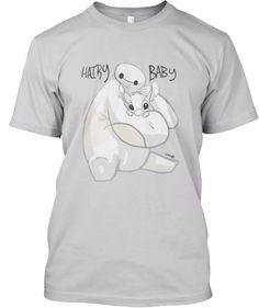 "Big Hero 6 Baymax & Stitch ""Hairy Baby"" by 14 year old artist Anna Dale."