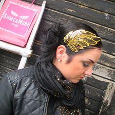PaljettipantaLehti Anna Smith, Passion For Fashion, Emo, Restoration, Vogue, Crown, Band, Accessories, Jewelry