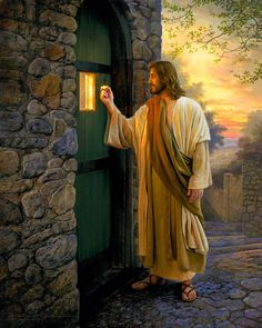 Peace on the outside comes from knowing God on the inside ~~I Love the Bible and Jesus Christ, Christian Quotes and verses. Pictures Of Jesus Christ, Religious Pictures, Religious Art, Lds Art, Bible Art, Image Jesus, Jesus Christus, Biblical Art, Jesus Is Lord