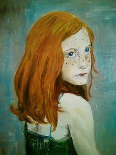 Rudzielec by sandrutowiec on DeviantArt Deviantart, Painting, Painting Art, Paintings, Painted Canvas, Drawings