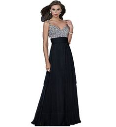 LondonProm ll7 beading Pink blue Evening Dresses party full length prom gown ball dress robe (10, Black) LondonProm http://www.amazon.co.uk/dp/B00NNYRJU4/ref=cm_sw_r_pi_dp_aBBIub1AZMY21
