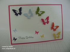 Geburtstagskarte Birthday Card Stampin Up 020