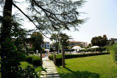 The park of the Acquaviva Hotel on Garda Lake. Relax yourself at Acquaviva Hotel #relax #park #italy