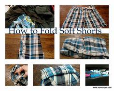 Fold shorts